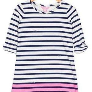 Lilly Pulitzer Little Girls Devon Dress Pink Blue